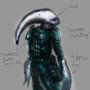 Zora Cyborg Ninja by veselekov
