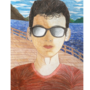self-portrait. by Macrom