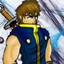 Beowulf, my original character by XxZardhOxX