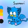 Saonavi Reference by RainbowFlavoredChaos