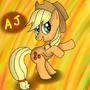 Applejack by RainbowFlavoredChaos
