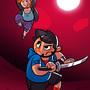 Blade Battle by Torogoz