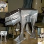 Papercraft AT-AT by MajesticBob