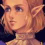 Zelda (redraw #3 lol)