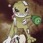 Alien Hominid Zombie by RubberNinja