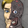 Two-Face by Theo-art