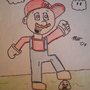 Mario in Action by sumidiotdude