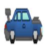 Random Blue Car