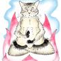 Buddha Cat by MC-Booga