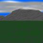a mountain range by Elemental-Sword