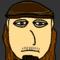 My flash self portrait.