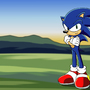 Sonic The Hedgehog by thewax70