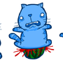 One... Two. Three! by AlmightyHans