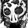 'nother creepy doodle by Tetigi
