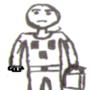 Kriper t-shirt man by realfixer