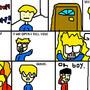 Cartoon Town: The door!