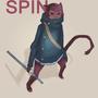 The crimson spider monkey