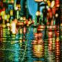 Rainy Street by LilioTheOne
