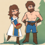 Age of Empires 2 Villagers