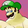 Luigi, what are you doing out here with all this cake?