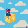 The Lonesome Mario by ClassyRaptor