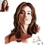 Olivia Wilde portrait by ChrisDaemon
