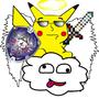 Funky Pikachu Angel by hank2829