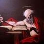Saint Hieronymus Writing by Lowgan