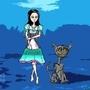 Alice, Siren Dress by LokoLobo