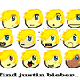 Find Justin Bieber :3 by Peanutman025