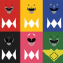 Power Rangers Minimalism
