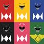 Power Rangers Minimalism by ricem0nsta