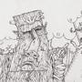 Wispy Woods Lineart by Hoboweasel