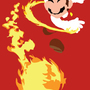 Fire Flower Mario by ricem0nsta