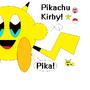 Pikachu Kirby by Kirbemon2000