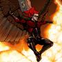 Crimson Hawk by ChrisDaemon
