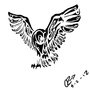Owl Tattoo by c2TRC