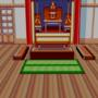Rei's meditation room