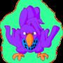 Purple Bird by Awesomkia