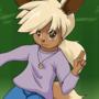 [Diaper Warning] -- Gijinka: Blue's Eevee