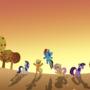 Sweet Apple Acres [wallpaper] by JustJustified