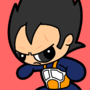 Vegeta Power Puff by dylanchristopher
