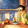 BOLIN EATS HIS PROBLEMS by Civilized-Apocalypse