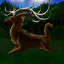 Demon Deer by TheTrafficJamer