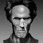 Clint Eastwood by StomachBug