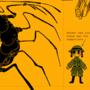 Self loading gun centipede robot