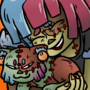Frankencat hug