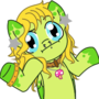 COMMISSION: Trippy Glitters by Nintendoart