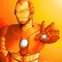 Ironman Ms Paint by Fifty-50