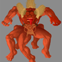 Aztec Demon Thing by MiddleFingerRings